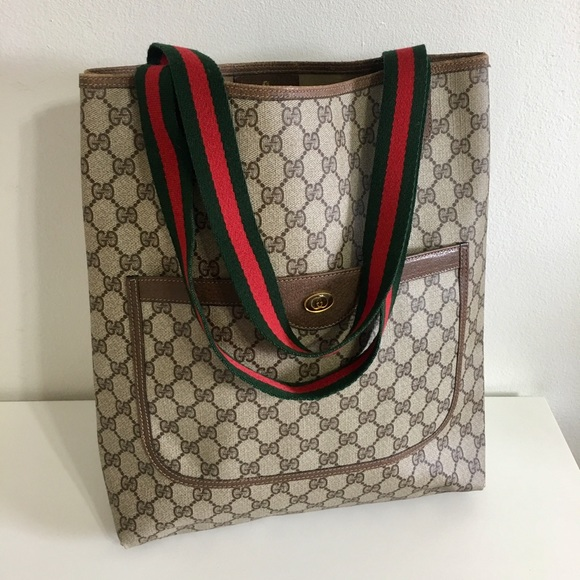 cd35deefd Gucci Bags | Authentic Sherry Line Large Tote | Poshmark